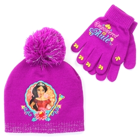 Wholesale ELENA Girls Winter Hat & Gloves Set