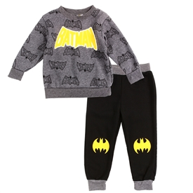Wholesale BATMAN Boys Infant 2-Piece Fleece Set
