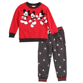 Wholesale MICKEY MOUSE Boys Toddler 2-Piece Fleece Set