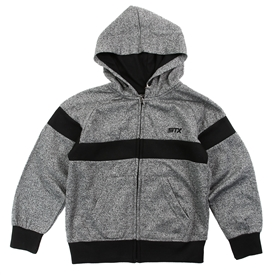 Wholesale STX Boys 4-7 Fleece Zip Up Hoodie