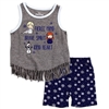Wholesale BABY SHARK Girls Toddler 2-Piece Short S