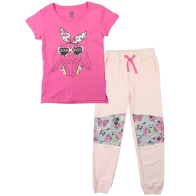 Wholesale LOVE @ FIRST SIGHT Girls 4-6X 2PC Jogger Set