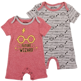 Wholesale HARRY POTTER Boys Newborn 2-Pack Rompers