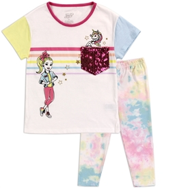 Wholesale JOJO SIWA Girls 4-6X 2PC Legging Set