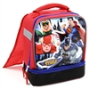 Wholesale JUSTICE LEAGUE Drop Bottom Lunch Bag With Cape