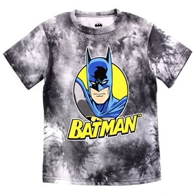 Wholesale BATMAN Boys 8-16 Tie Dye T-Shirt