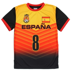 Wholesale STRIKE FORCE Boys 8-18 Soccer Jersey Top - ESPANA