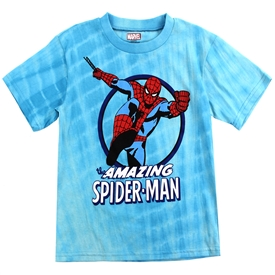 Wholesale SPIDER-MAN Boys 8-16 Tie Dye T-Shirt