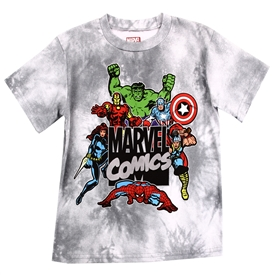 Wholesale AVENGERS Boys 8-16 Tie Dye T-Shirt