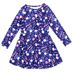 Wholesale HELLO KITTY Girls Toddler Fashion Dress
