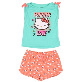 Wholesale HELLO KITTY Girls Toddler 2PC Short Set
