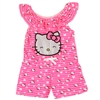Wholesale HELLO KITTY Girls Toddler Knit Romper