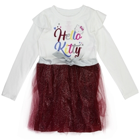 Wholesale HELLO KITTY Girls 4-6X Fashion Dress