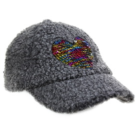 Wholesale LIMITED TOO Sherpa Cap W/ Flip Sequin