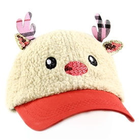 Wholesale LIMITED TOO Holiday Reindeer Sherpa Cap