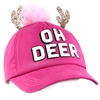 Wholesale LIMITED TOO Holiday Reindeer Glitter Cap