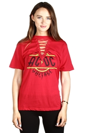 Wholesale AC/DC Junior Ladies Fashion Top