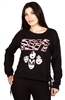 Wholesale KISS Juniors Crew Neck Sweatshirt