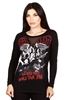 Wholesale AEROSMITH Juniors Long Sleeve Top