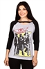 Wholesale AEROSMITH Juniors 3/4 Sleeve Top