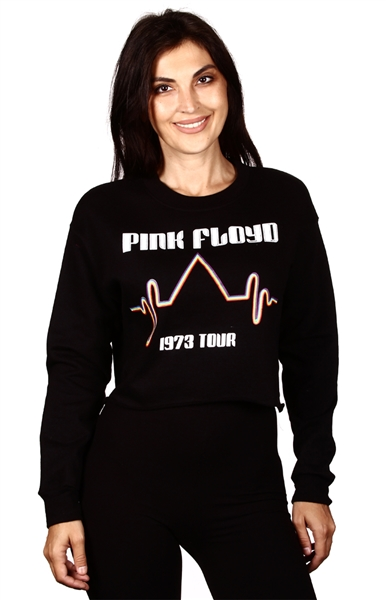 Wholesale PINK FLOYD Juniors Crop Sweatshirt