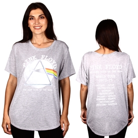 Wholesale PINK FLOYD Junior Plus Fashion Top /T-Shirt