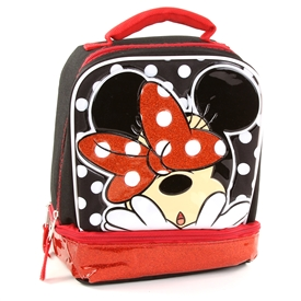 Wholesale MINNIE MOUSE Drop Bottom Lunch Bag