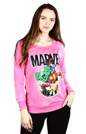 Wholesale AVENGERS Junior Ladies Fashion Sweatshirt