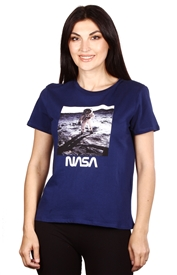 Wholesale NASA Juniors Crew Neck Top