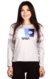 Wholesale NASA Juniors Long Sleeve Top