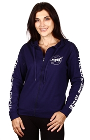 Wholesale NASA Juniors Zip Hoodie