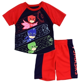 Wholesale PJ MASKS Boys Toddler 2-Piece Short Set