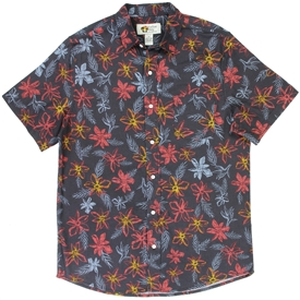 Wholesale PARADISE KEY Men's Tropical Cotton Shirt