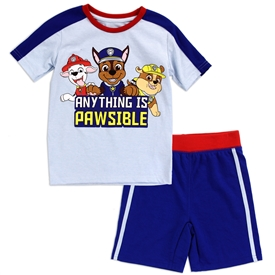 Wholesale PAW PATROL Boys Toddler 2-Piece Short Set