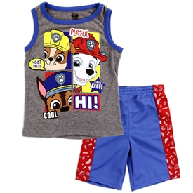 Wholesale PAW PATROL Boys 4-7 2-Piece Short Set