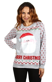 Wholesale SANTA CLAUS Junior Ladies  Sweatshirt