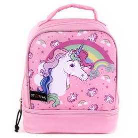 "Wholesale STARPAK 9"" Drop Bottom Lunch Bag - Unicorn"