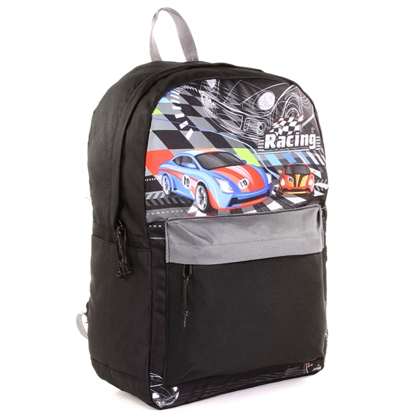 "Wholesale STARPAK 14"" Fashion Backpack - Racing"