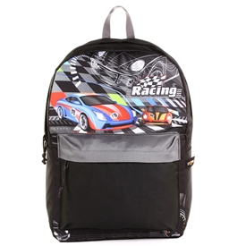 "Wholesale STARPAK 16"" Fashion Backpack - Racing"