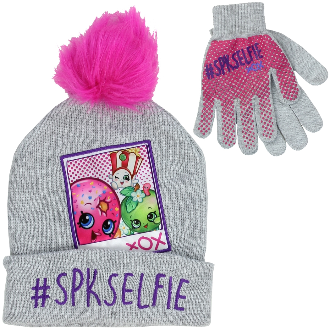 a579fb22a7b Wholesale Children s Clothing - SHOPKINS Girls Winter Hat   Gloves Set