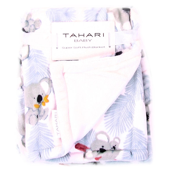 Wholesale TAHARI BABY BOYS MINK FLEECE BLANKET