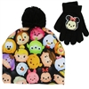 Wholesale TSUM TSUM Girls Winter Hat & Gloves Set