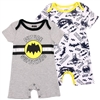 Wholesale BATMAN Boys Newborn 2-Pack Rompers