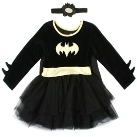 Wholesale BATGIRL Gilrs Infant Dress Up To Play Costume