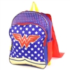 "Wholesale WONDER WOMAN 16"" Specialty Backpack w/ Cape"