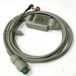 Schiller 3 Lead ECG Cable & Leads