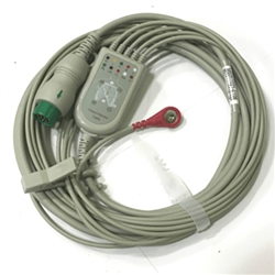 Schiller 5 Lead ECG Cable & Leads