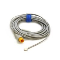 Mindray MR403B Reusable Temperature Probe, Adult, Skin, 2 Pin 0011-30-37393