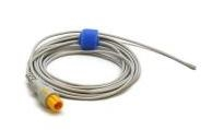 Mindray MR402B Reusable Temperature Probe, Pediatric/Neonatal, Esophageal/Rectal, 2 Pin 011-30-37394
