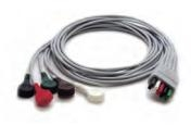"5 Lead Mobility ECG Snap Lead Wires (36"")"